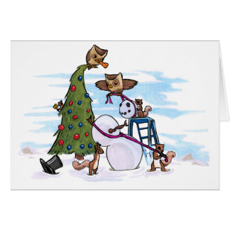 Cooperating in a Winter Wonderland Card
