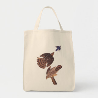 Cooper's Hawk Audubon Birds of Prey Tote Bag