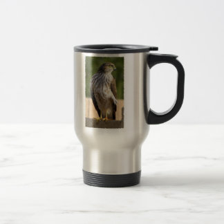 Cooper's Hawk Travel Mug