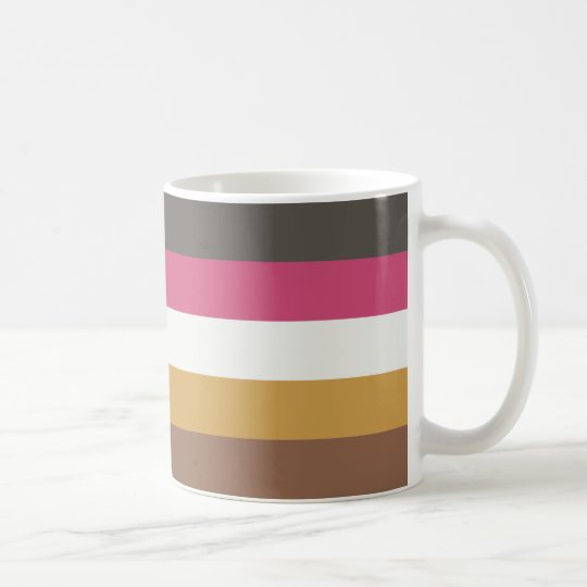 Coordinated Stripes Mug