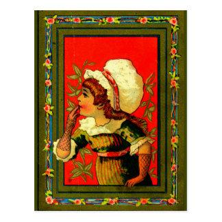 Coordinates of style 1885 postcard