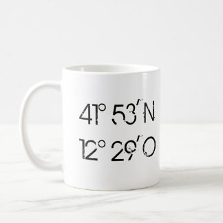 Coordinates ROM - Rome is where the heart is cup