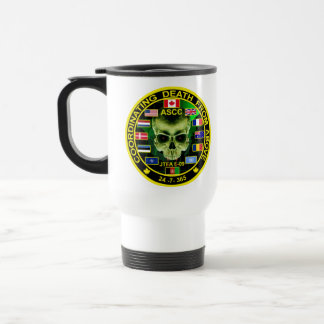 Coordinatiing Death From Above Travel Mug