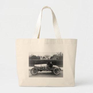 Cootie Race Car Vintage White House Photo Tote Bag