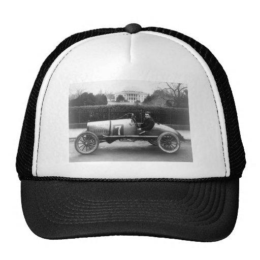 Cootie Race Car Vintage White House Photo Mesh Hat