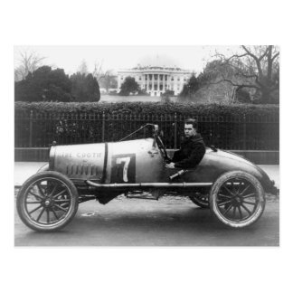 Cootie Race Car Vintage White House Photo Postcard