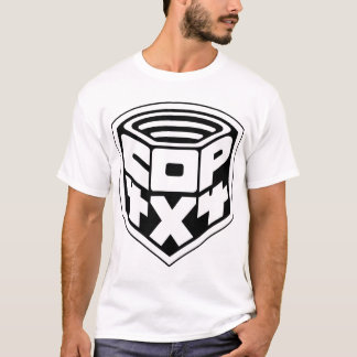 cop badge black basic1 copy T-Shirt