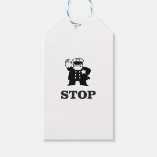 cop stop gift tags