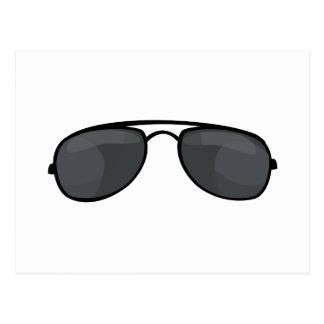 Cop Sunglasses Postcard