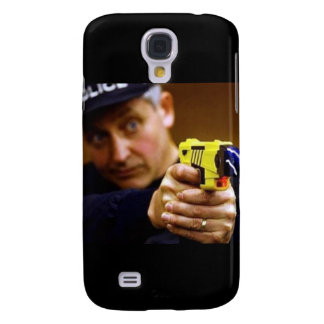 Cop With A Taser Gun