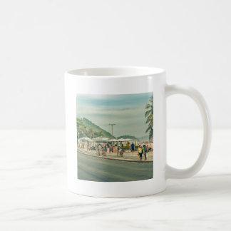 Copacabana Sidewalk Rio de Janeiro Brazil Coffee Mug