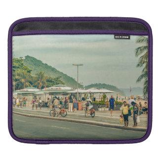 Copacabana Sidewalk Rio de Janeiro Brazil iPad Sleeve