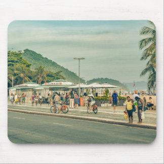 Copacabana Sidewalk Rio de Janeiro Brazil Mouse Pad