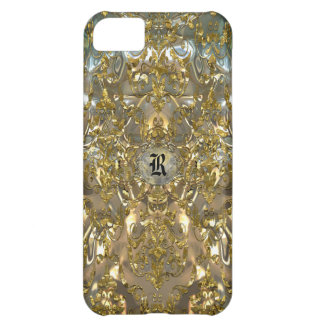 Copachatlin Damask Monogram Cover For iPhone 5C
