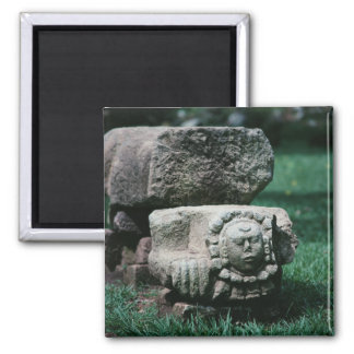 Copan City of Honduras Ancient Ruins Fancy Color Magnet