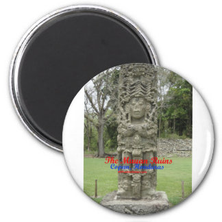 Copan Ruins Buttons and key chains Magnet