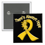 COPD There's Always Hope Floral Pin