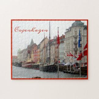 Copenhagen Canal (Nyhavn) Jigsaw Puzzle