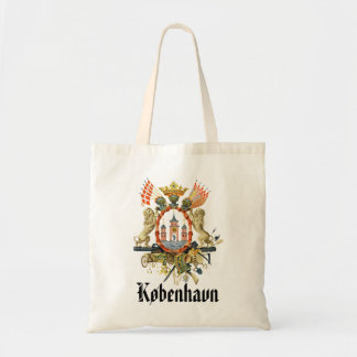 Copenhagen Coat of Arms Tote Bag