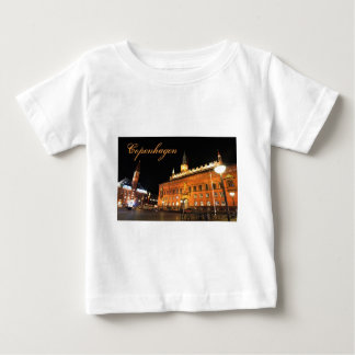 Copenhagen, Denmark at night Baby T-Shirt