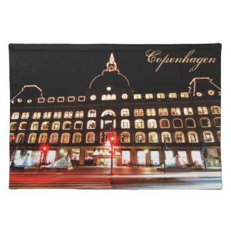 Copenhagen, Denmark at night Placemat