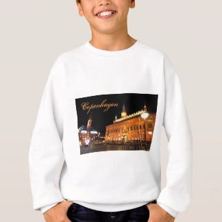 Copenhagen, Denmark at night Sweatshirt