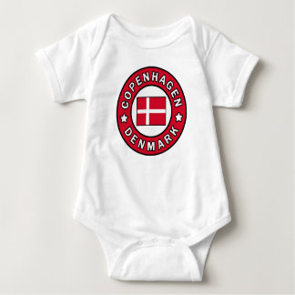 Copenhagen Denmark Baby Bodysuit