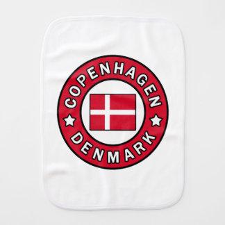 Copenhagen Denmark Burp Cloth