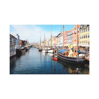 Copenhagen Denmark Canvas Print