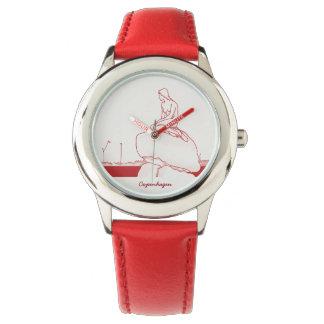 Copenhagen Denmark Classy Elegant Sketch Nostalgic Watch