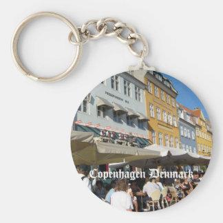 Copenhagen, Denmark Keychain