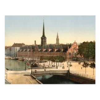 Copenhagen - Exchange Hall, Denmark Postcard