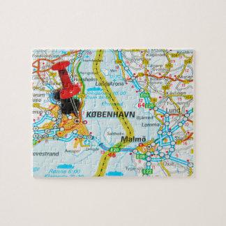 Copenhagen, København in Denmark Jigsaw Puzzle
