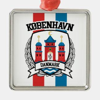 Copenhagen Metal Ornament