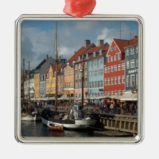 Copenhagen Nyhavn Metal Ornament