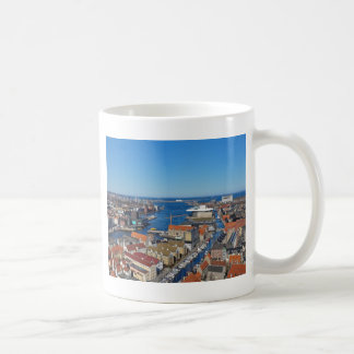 Copenhagen Port  top of Vor Frelsers Kirke Coffee Mug