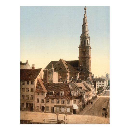 Copenhagen - Saviour Church, Denmark Postcard