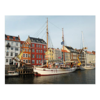 Copenhagen Ship Postcard
