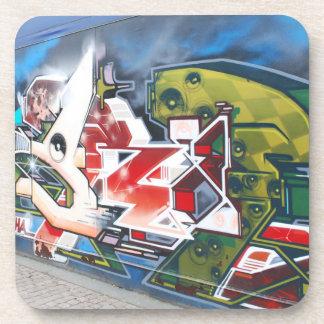Copenhagen Street Graffiti Art Drink Coaster