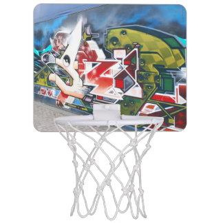 Copenhagen Street Graffiti Art Mini Basketball Hoop
