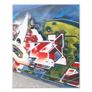 Copenhagen Street Graffiti Art Photograph
