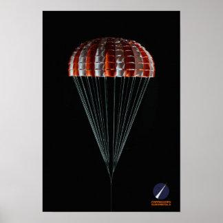 Copenhagen Suborbitals Main Ringsail Parachute Poster