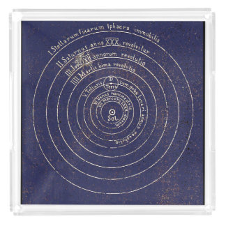 Copernican Heliocentrism Serving Tray
