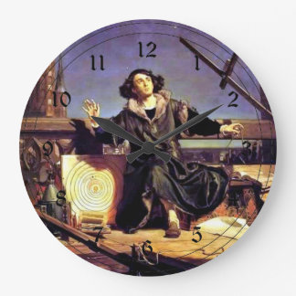 Copernicus in the Tower at Frombork Wall Clock