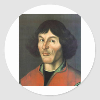 Copernicus Round Sticker