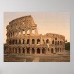 Copie archivistique de Colosseum extérieur, Rome,  Posters