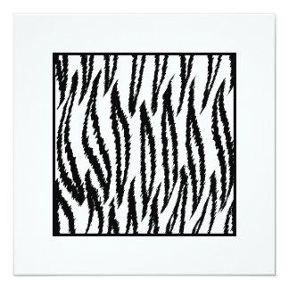 Copie blanche de tigre. Modèle de tigre