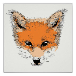 Copie d'affiche de bande dessinée de Fox