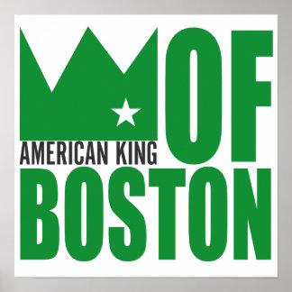 Copie d'affiche de MIMS - roi américain de Boston