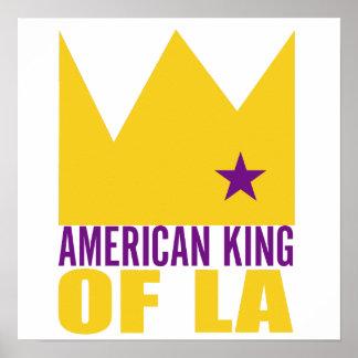 Copie d'affiche de MIMS - roi américain de L.A.